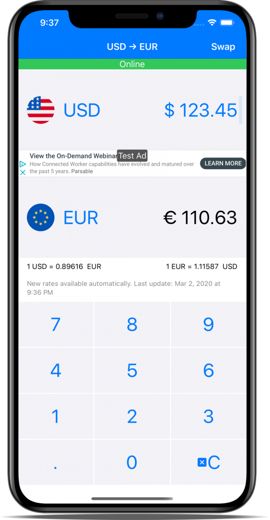 iphone currency converter app