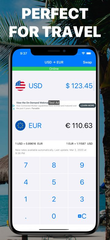 MixCoin - Currency Converter Calculator for iPhone
