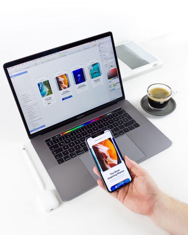 Working on an iOS app on MacBook Pro