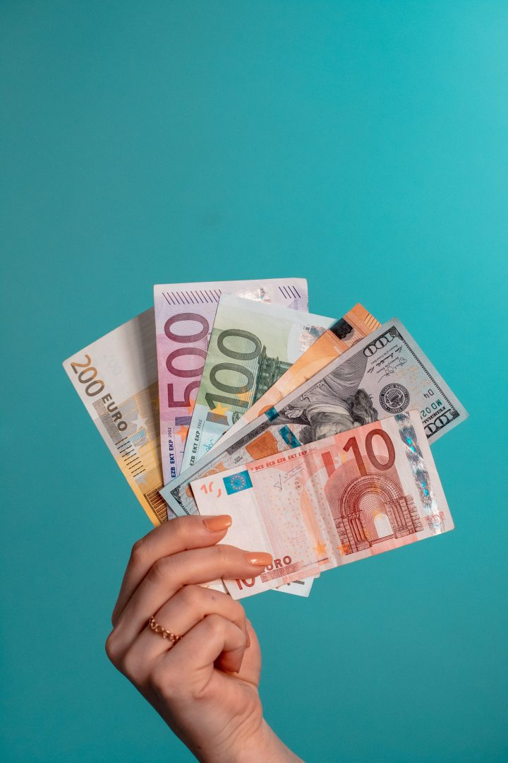 Euro - the European Union currency - tips