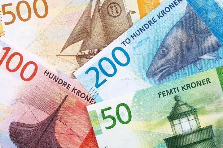 Norwegian krone banknotes