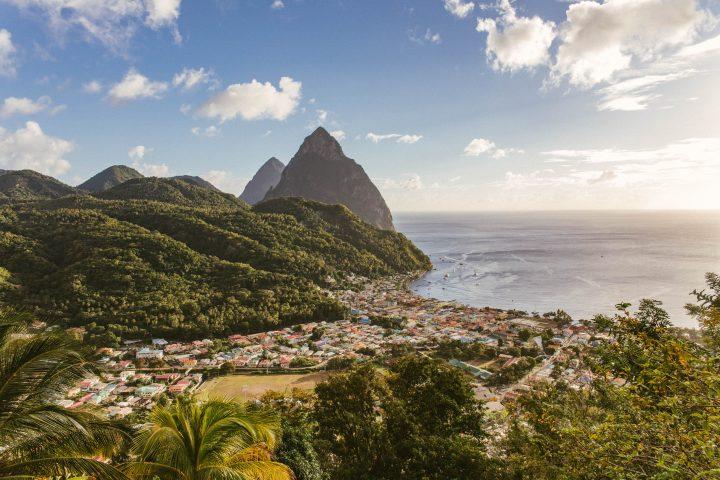 St. Lucia harbor