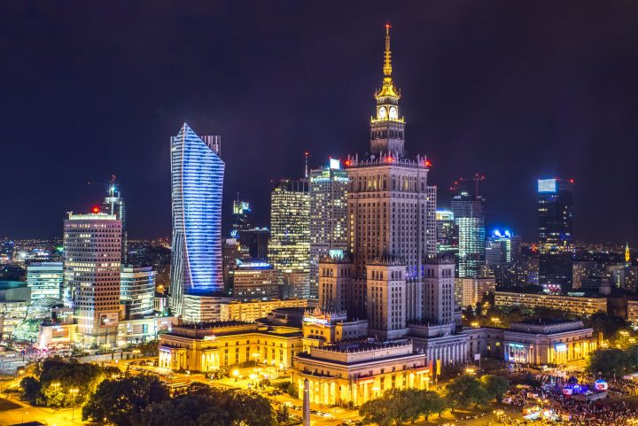 Warsaw - Poland's capital, the home of Polish zloty